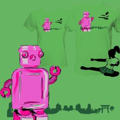 Inspired by: Yoshimi Battles the Pink Robots