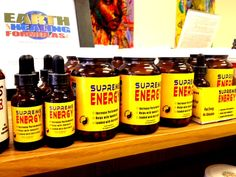 Need Energy?  Refuel the natural way with Supreme Energy by Earth Healing Formulas.  No fillers, only the good stuff!  Check out this product and more in our store and at www.EarthHealingFormulas.com. #NOHC, #Organic, #OrganicLV, #GMOfreeLV, #Supplements, #Herbs, #Health, #Local, #LocalArt, #LocalProducts, #SmallBuisness, #Community, #Classes, #Qigong, #TaiChi , #Reiki, #Toastmasters, #Yoga, #Dance, #Vitamins