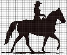 Image result for horse knitting charts free
