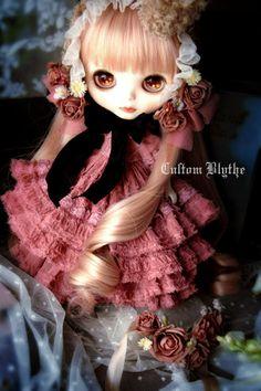 Custom Dolls, Big Eyes, Blythe Dolls, Beautiful Dolls, Fashion Dolls, Child, Fancy, Etsy Shop, Cartoon