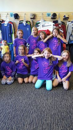 Girl scouts came in for the tour and to print their own shirts. Girl Scouts, Shirt Designs, Tours, Sports, Fashion, Hs Sports, Moda, Fashion Styles, Girl Guides