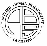 Certified Applied Animal Behaviorists...One day I'll have this!!