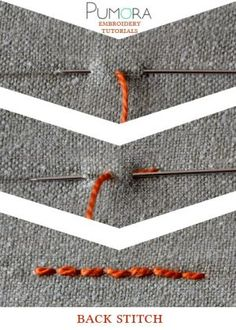 back stitch tutorial