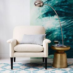 Need to find a cheaper version of this: Petite Arc Metal Floor Lamp   west elm