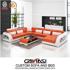 Ganasi Medium Size Italian Modern Furniture G8012 , Sectional Sofa, Dubai Sofa Furniture,Model NO.:G8012, Back Height:Medium Back, Certification:CARB, Fire Retardant Standard:BS 5852, Material:Genuine Leather, Inflatable:Non Inflatable, Condition:New, MOQ:1 Set, Delivery:Within 7-15 Days Prompt Delivery, Warranty:2 Years Warranty, Washable:Non Washable, Custom Made:Custom Size, Color, Shape etc, Color Choices:up to 40 Color Options, Trademark:GANASI, Transport Package:Untra Strong Export… Leather Sofa Decor, Leather Lounge, Leather Sectional, Leather Furniture, Sectional Sofa, Corner Sofa Design, Living Room Sofa Design, Living Room Designs, Living Furniture