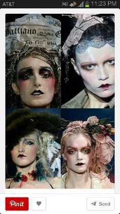 Des visages Dior yesteryear