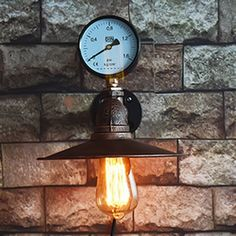 (39.64$)  Know more - http://aio1e.worlditems.win/all/product.php?id=32799681823 - Vintage Water Pipe Wall lamp Loft Warehouse Indoor Wall light lamp Pared Copper Industrial Retro Luxury Wall Sconce Lights