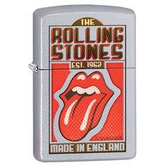 Zippo Rolling Stones Made in England Windproof Lighter
