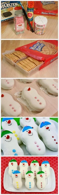 Ideas & Products: Snowmen Cookies