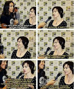 Maggie Siff-She's a lucky lady.