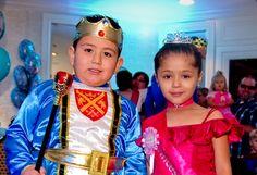 Joysse's wish to have a Princess birthday party