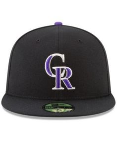New Era Colorado Rockies Game of Thrones 59FIFTY Fitted Cap - Black 7 1/2