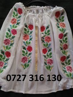 WhatsApp Image at Folk Costume, Costumes, Palestinian Embroidery, Cross Stitch Embroidery, Boho Shorts, Traditional, Popular, Romania, How To Wear