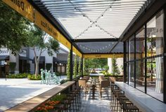 #fine #dining #outside #barside #tall #chairs #restaurant setting