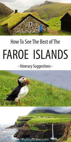 Faroe Islands Itinerary Suggestions (+Map & Practical Tips) See the best of the Faroe Islands with these itinerary suggestions from 3 to 9 days Places To Travel, Places To See, Travel Destinations, Travel Pics, Visit Faroe Islands, Northern Island, Short Trip, Future Travel, European Travel