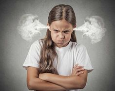 Closeup portrait Angry young girl Blowing Steam coming out of ears about to have Nervous atomic breakdown isolated grey background. Kids Behavior, Human Behavior, Anger In Children, Angry Child, Education Positive, Strong Willed Child, Adoptive Parents, Anger Issues, Human Emotions