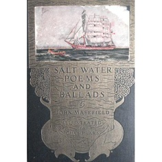 SALT-WATER POEMS AND BALLADS. Illustrated by Charles Pears [Hardcover]  John. Masefield (Author)