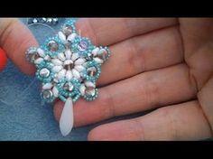 Video tutorial: orecchini Stella d'inverno - YouTube