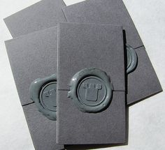 Sample Prints, Wax Seal Card