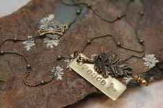 Peace Leaf Necklace