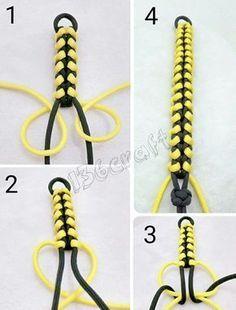 DIY Beaded Bracelets You Should Make Bead Crafts Lovers - Paracord - . - DIY Beaded Bracelets You Should Make Bead Crafts Lovers – Paracord – # - Diy Beaded Bracelets, Diy Bracelets Easy, Bracelet Knots, Bracelet Crafts, Bracelets For Men, Bracelet Making, Braclets Diy, Diy Friendship Bracelets How To, Lanyard Bracelet
