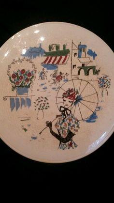 Rockabilly Limburg ECHT DOM Keramik Staffel Tortenplatte 50er Jahre Cafe Paris | eBay
