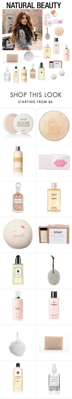 """""""Natural Beauty"""" by nguyenbaohanna ❤ liked on Polyvore featuring beauty, Fresh, African Botanics, Molton Brown, Mullein & Sparrow, Chanel, Manready Mercantile, Jo Malone, Meraki and Paul Brown Hawaii"""