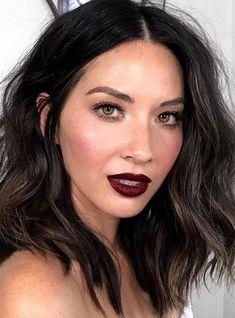 This Celeb Trick Makes Dark Lipstick Look So Much Better #refinery29