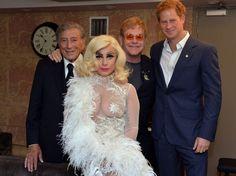 Lady Gaga Met Prince Harry
