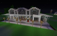 Theater Minecraft Buildings, Minecraft Stuff, Minecraft Ideas, Minecraft Decorations, Mundo Geek, Minecraft Creations, Theater, Fishing, Theatre