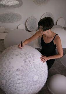 Carol Prusa drawing & 3-d form