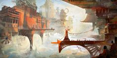Dive into The Art of Clément Galtier, a Concept and Environment Artist base din France.