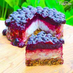 fully raw kristina blue berry 'cheesecake'