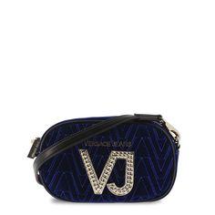 aa842afb316f (eBay link) Versace Jeans Women s Blue Cross-Body Shoulder Bag Zip Closure
