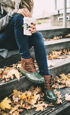 Love these Sperry duck boots!