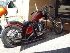 Chopper harley rigide Motos