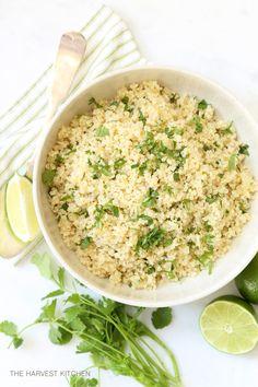 One pot Cilantro Lime Quinoa. Your new favorite easy quinoa recipe.