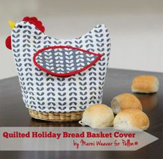 holiday bread basket