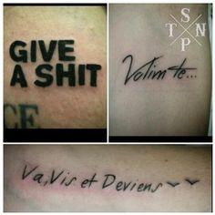 Tattoos par Flo #black #sangpiternel #cannes #tattoo #tatouage #sangpiternel #cannes #tattooartist