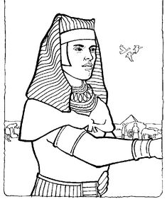 Joseph In Egypt Colouring Pages Page 2