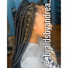 Box Plaits, Braids, Hair Styles, Beauty, Bang Braids, Hair Plait Styles, Braid Hairstyles, Hairdos, Hair Looks