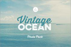 ブラウザいっぱいの背景にぴったり!美しい海辺の写真画像素材、今週末まで無料 -Vintage Ocean