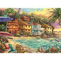 Route 66 Sun n Sand Motel Artisan Jigsaw Puzzle