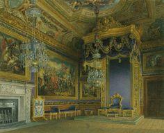 Inside the King's Audience Chamber, Windsor Castle