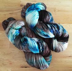 A personal favorite from my Etsy shop https://www.etsy.com/listing/469503343/hand-dyed-yarn-superwash-merino