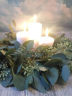 These eucalyptus wreathes can be used for weddings, bridal showers, baby showers, housewarming's... you name it- the options are endless. It's a great way to avoid costly centerpieces from florists. Add a few candles and TaDa! Contact me for multiple quantity discounts! If kept