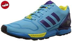 Adidas ZX Flux, bright cyan-collegiate purple-bright yellow, 6 - Adidas sneaker (*Partner-Link)