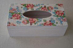 Agulkowy Świat Decoupage, Tissue Holders, Decorative Boxes, Handmade, Home Decor, Tips, Hand Made, Decoration Home, Room Decor
