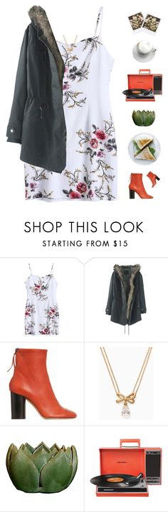 """""""Lunch date"""" by genesis129 ❤ liked on Polyvore featuring Wrap, Isabel Marant, Kate Spade and Crosley"""