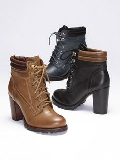 Big Horn Lace-up Bootie.